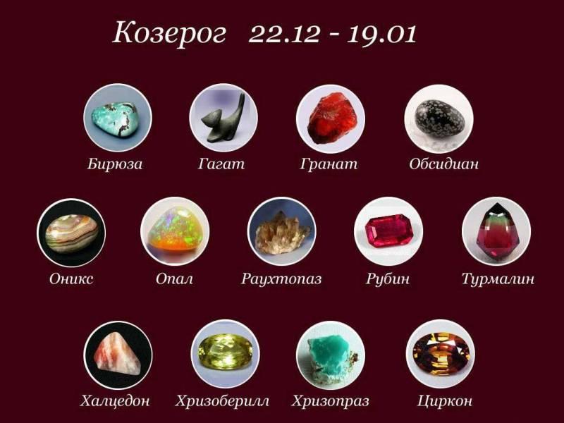 Камни Козерогов - какой талисман подходит по гороскопу? По дате рождения для женщин и мужчин.